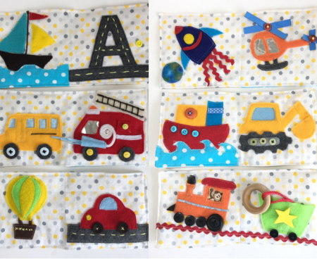 Learn How To Make Sensory Book For Babies Craft Learn And Play