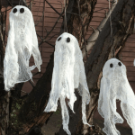 Cheesecloth Ghost Crafts That Are Fun And Easy For Kids To Make