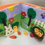 Easter Quiet Book For Toddlers Packed With Felt Finger Puppets And Easter Activities