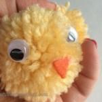 Easy steps for cute DIY Pom Pom Chicks