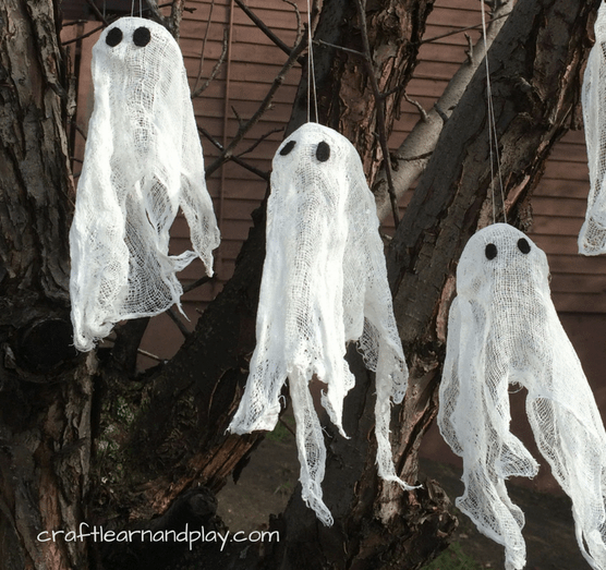 halloween ghost crafts tutorial