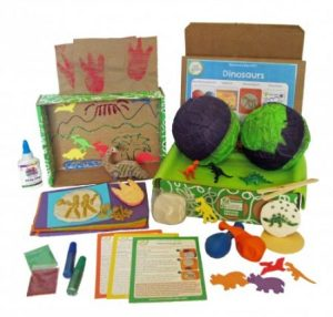 dinosaurs discovery box craft kits for kids