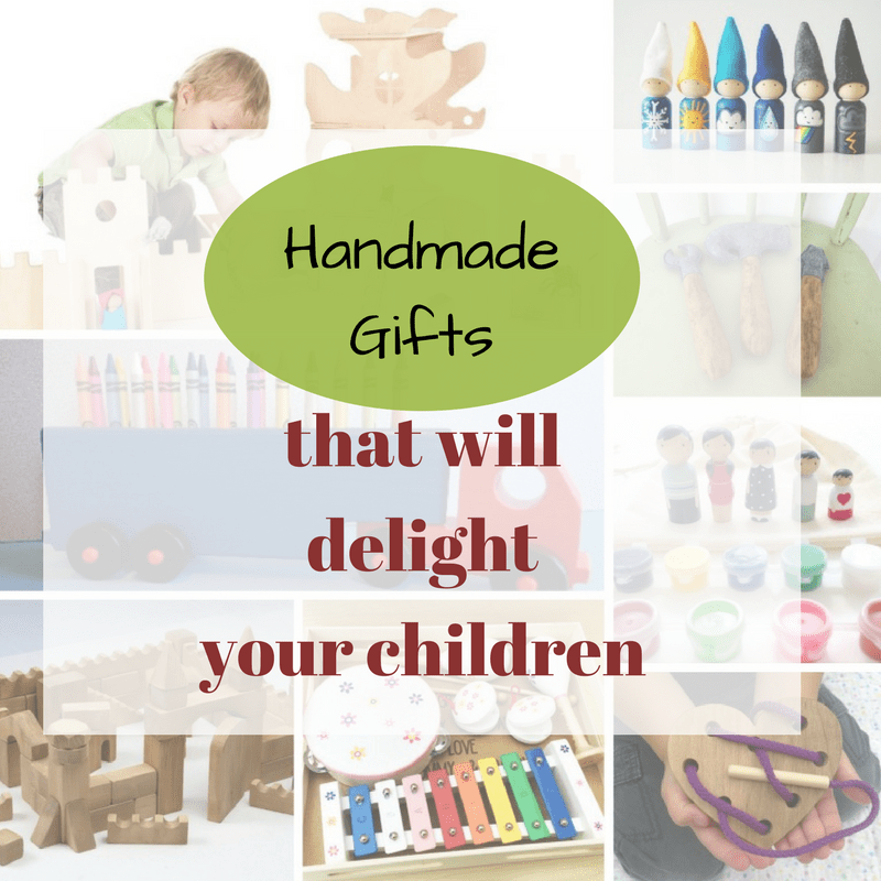 Handmade Christmas Gifts For Kids: The Best Eco-Friendly Handmade Christmas Gifts Guide For