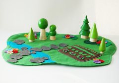 Peter rabbit imaginative play mat