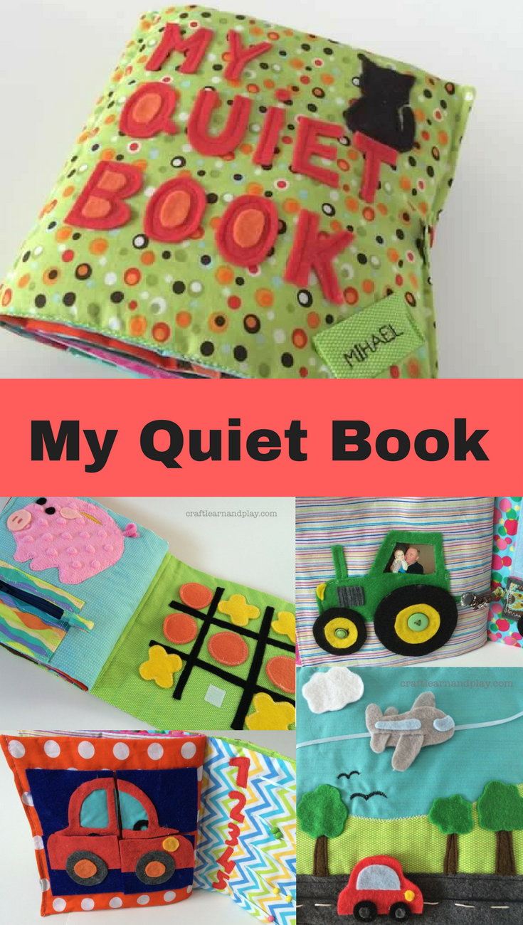 My quiet book that was first made as a birthday gift for toddler. Turned out I discovered my passion for sewing for kids. Click to get inspired and find more ides.