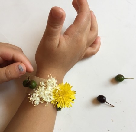 nature bracelet ideal nature crafts activities for kids to make outside in a nature