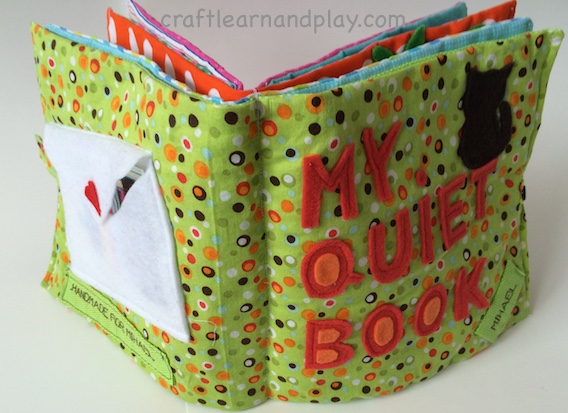 quiet book covers - binding quiet book - busy book for toddlers