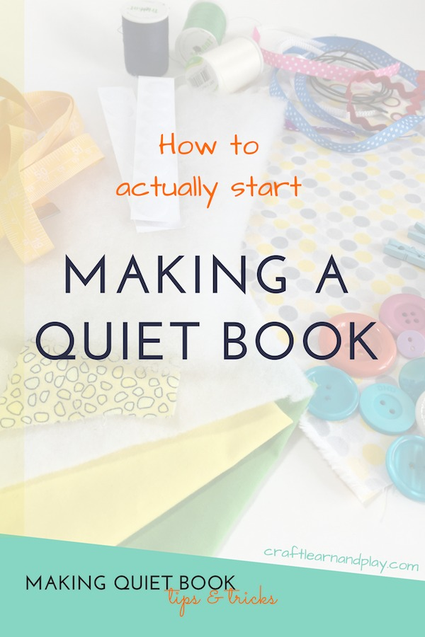 Find out how to actually start your first quiet book from scratch. Useful tis that will help you sewing quiet book and help you continue. Click for tips and start right now