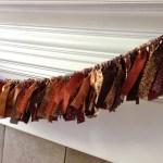 Pinterest Project Fabric Scraps Garland