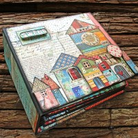 "Scrapbooking album ""Home sweet home"""