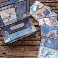Επιτραπέζιο ημερολόγιο scrapbooking με συρτάρι!