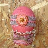 Πασχαλινό αυγό στρουθοκάμηλου με κρακελέ