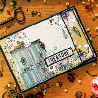 "Scrapbooking mini-album ""Treasure"""