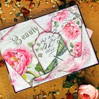 "Scrapbooking photo box ""Beauty"""