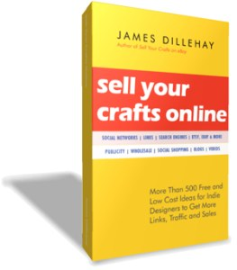 sell crafts online ebook cover