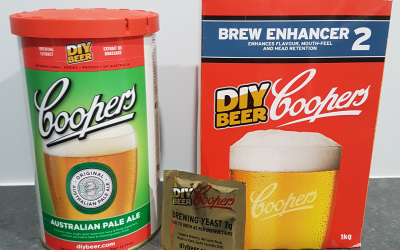 Brewing your first beer, kit & kilo style