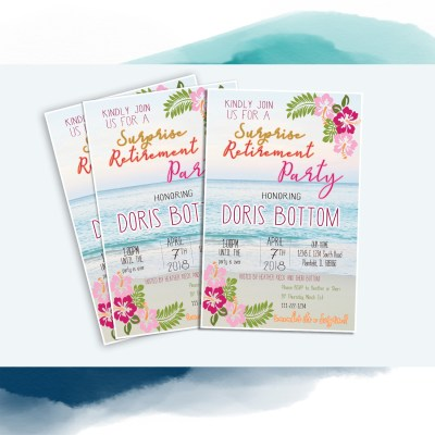 Invitation Designs: Celebrations Big and Small