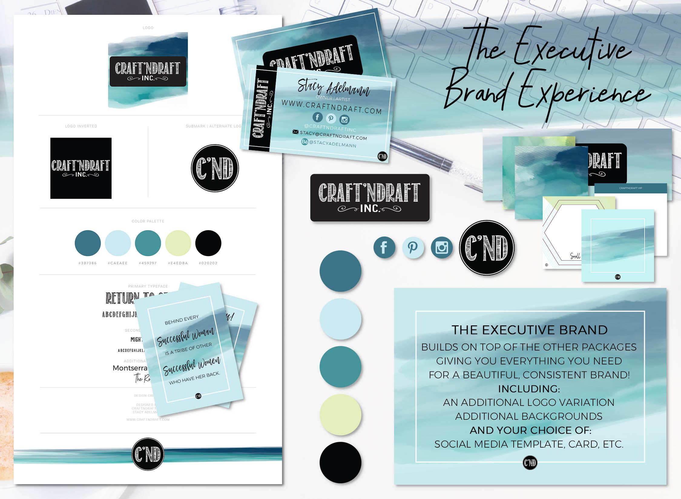 Executive Logo and Branding - CraftnDraft Inc