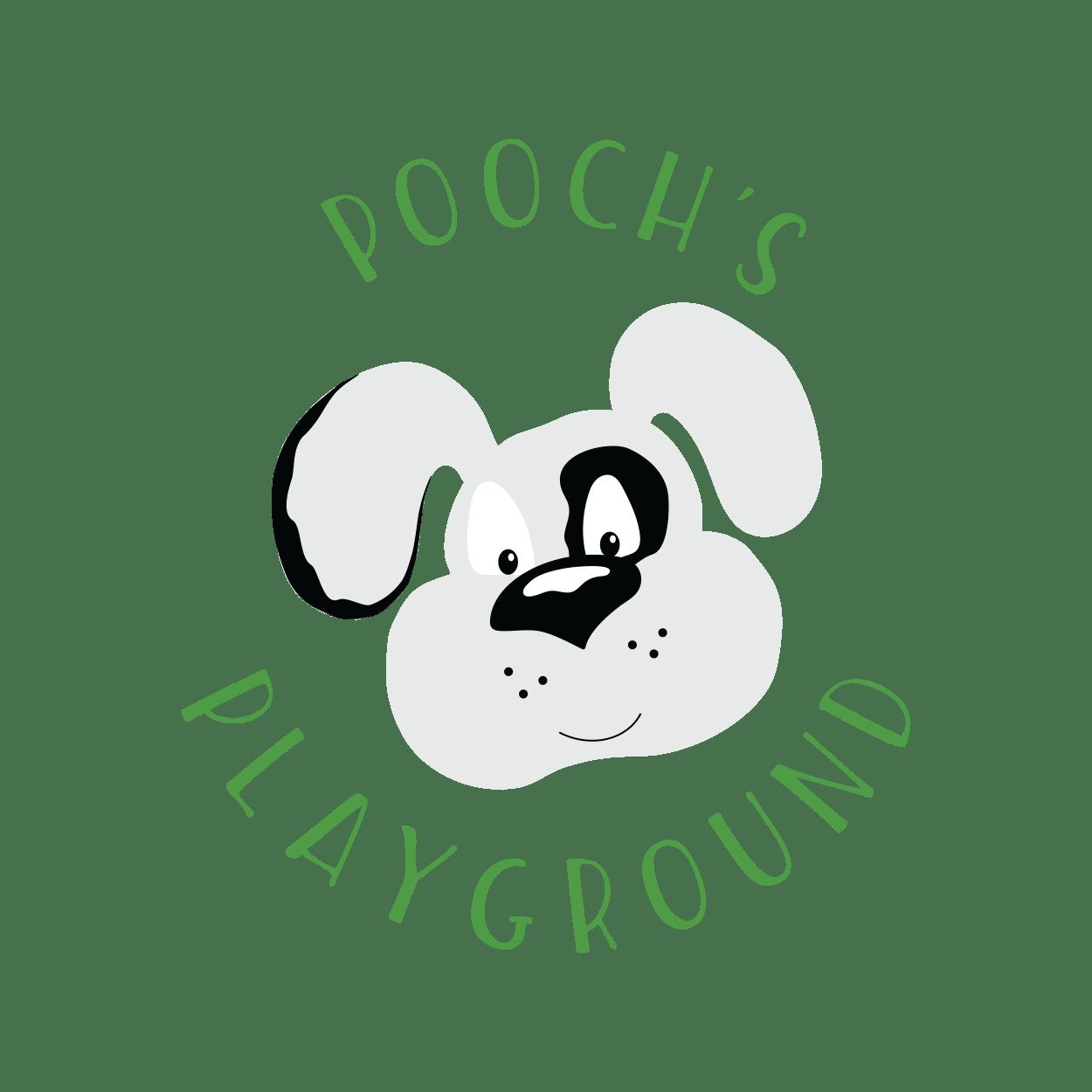 Poochs Playground Logo - Designed by CraftnDraft Inc