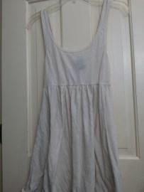 off-white cotton shirt
