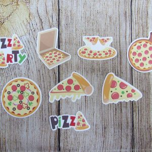Pizza My Heart Die Cuts