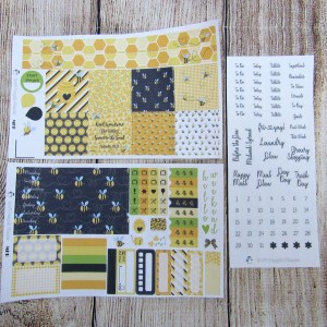 Honey Weekly, MINI HAPPY PLANNER