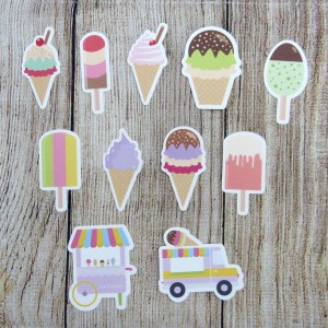 Ice Cream Die Cuts