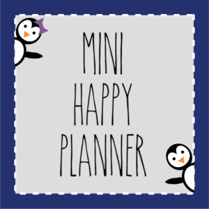 Mini Happy Planner