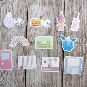 90's Love Die Cuts
