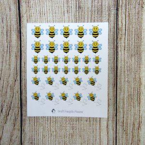 Handdrawn Bees
