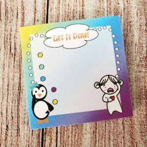 Get It Done Sticky Note Collab with Cheerful Planner Girl