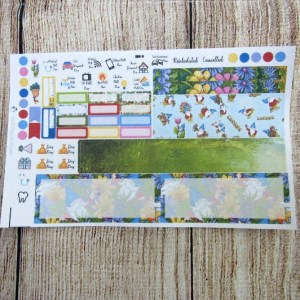Gnomes Monthly Sticker Set, Choose your month, HOBONICHI WEEKS