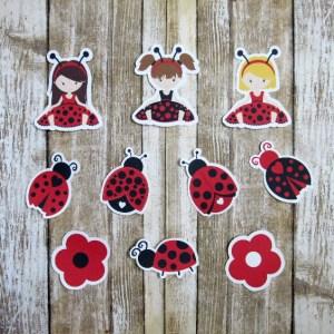 Lovely Ladybug Die Cuts