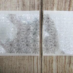 Spider Web Foil Header Overlay
