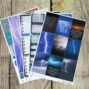 Thunder & Lightning Weekly, CLASSIC HAPPY PLANNER