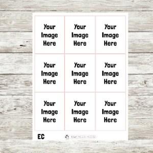 Custom Full Box Stickers