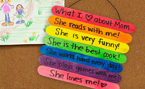 15 Kids Crafts For Mothers Day