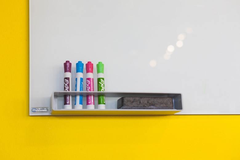 assorted color glue stick bottles