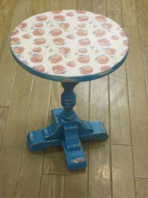 chalk paint occasional table 003