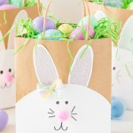 3 Designs Of Cute Crafts Using Paper Bags Easter Bunny Paper Bags Made To Be A Momma