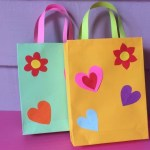 3 Designs Of Cute Crafts Using Paper Bags How To Make Bag With Color Paper Diy Paper Bags Making Youtube
