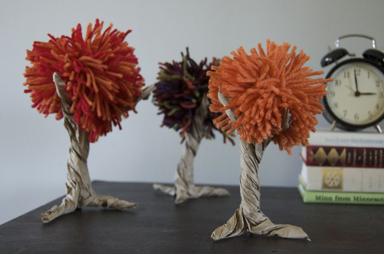 3 Designs of Cute Crafts Using Paper Bags Make Paper Bag Fall Trees Dollar Store Crafts