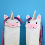 3 Designs Of Cute Crafts Using Paper Bags This Unicorn Craft Will Brighten Your Day Blitsy