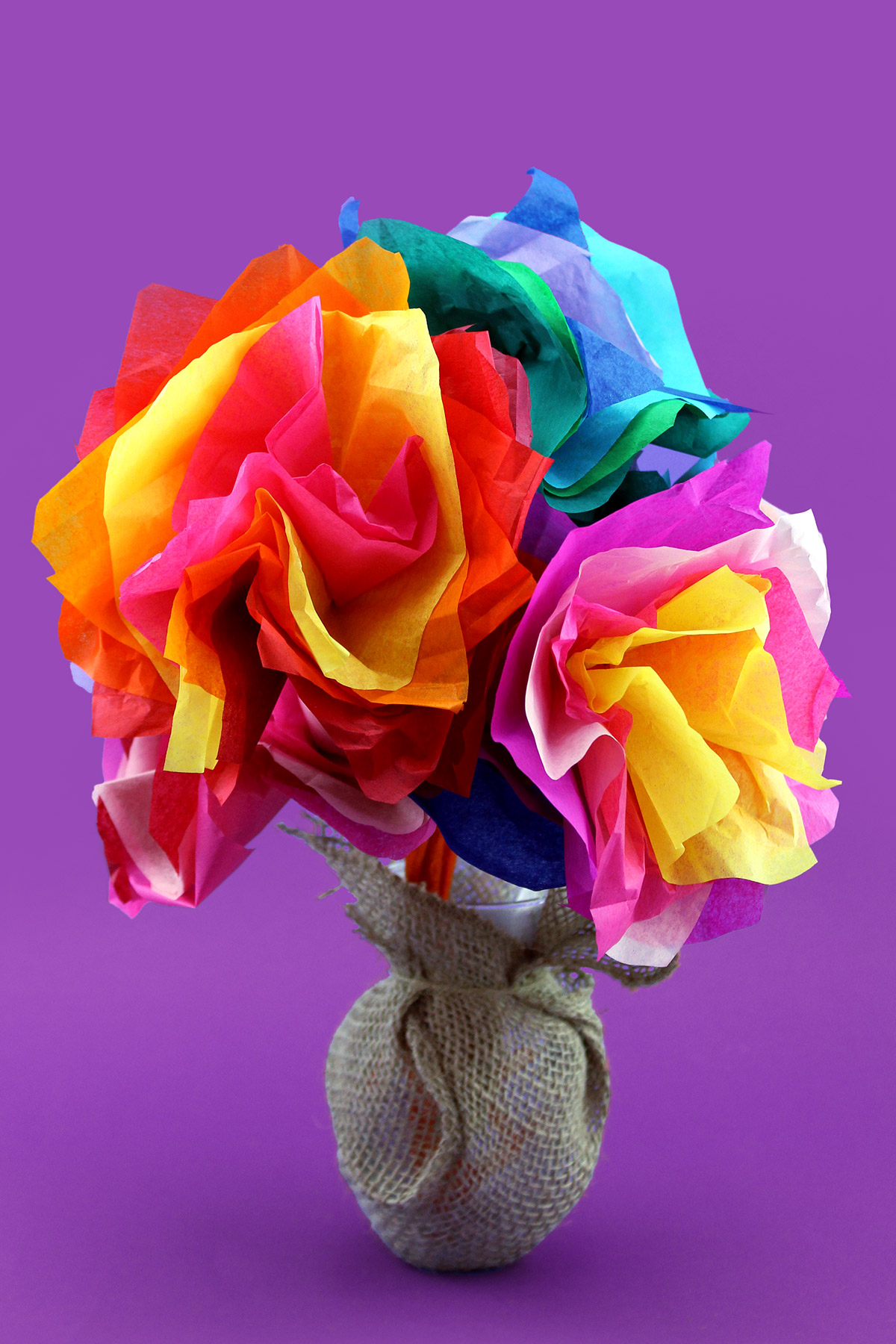 3 Easy Designs of Crafts Out Otissue Paper Dora Mothers Day Tissue Paper Flower Craft Nickelodeon Parents