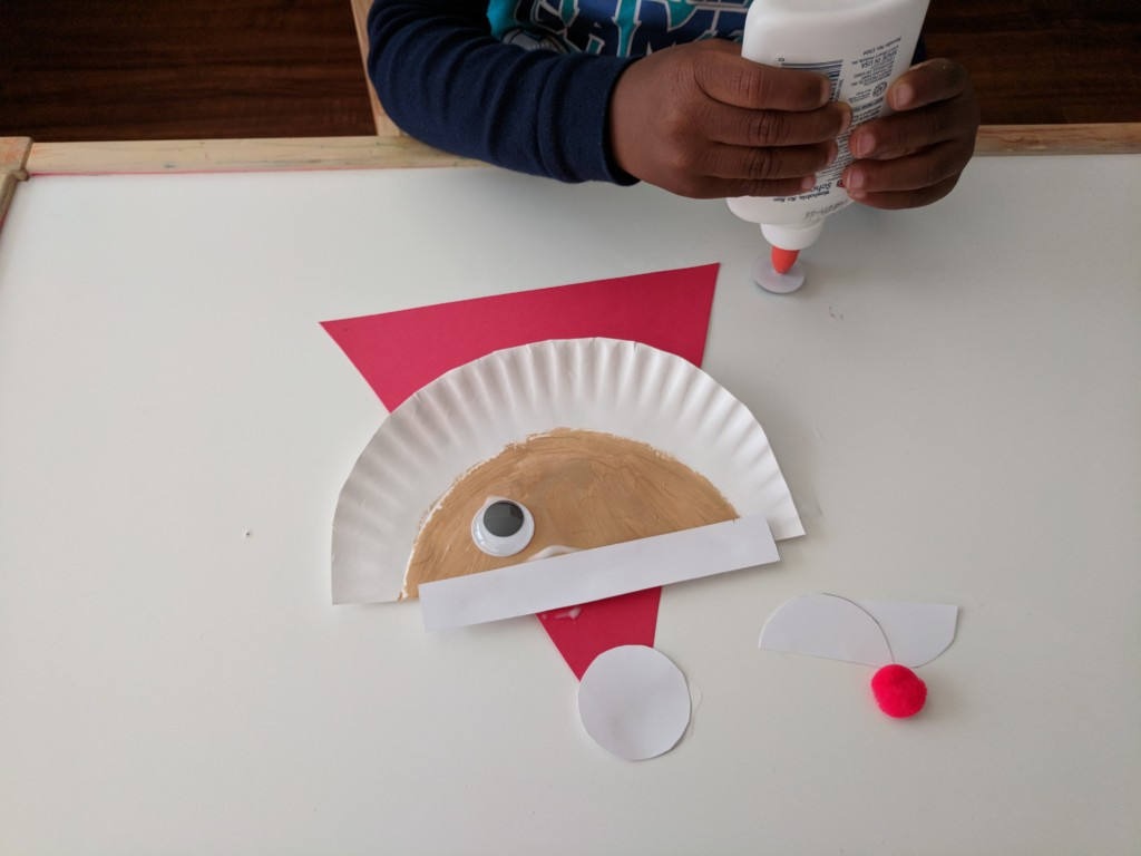 3 Unique Designs of Paper Plate Santa Craft 10 Easy Christmas Crafts For Kids