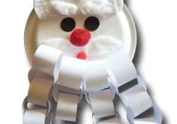 3 Unique Designs of Paper Plate Santa Craft Paper Crafts For Children Paper Plate