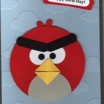 Angry Bird Paper Plate Craft Angry Birds Card Cards Pinterest Bird Cards Cards And Kids Cards