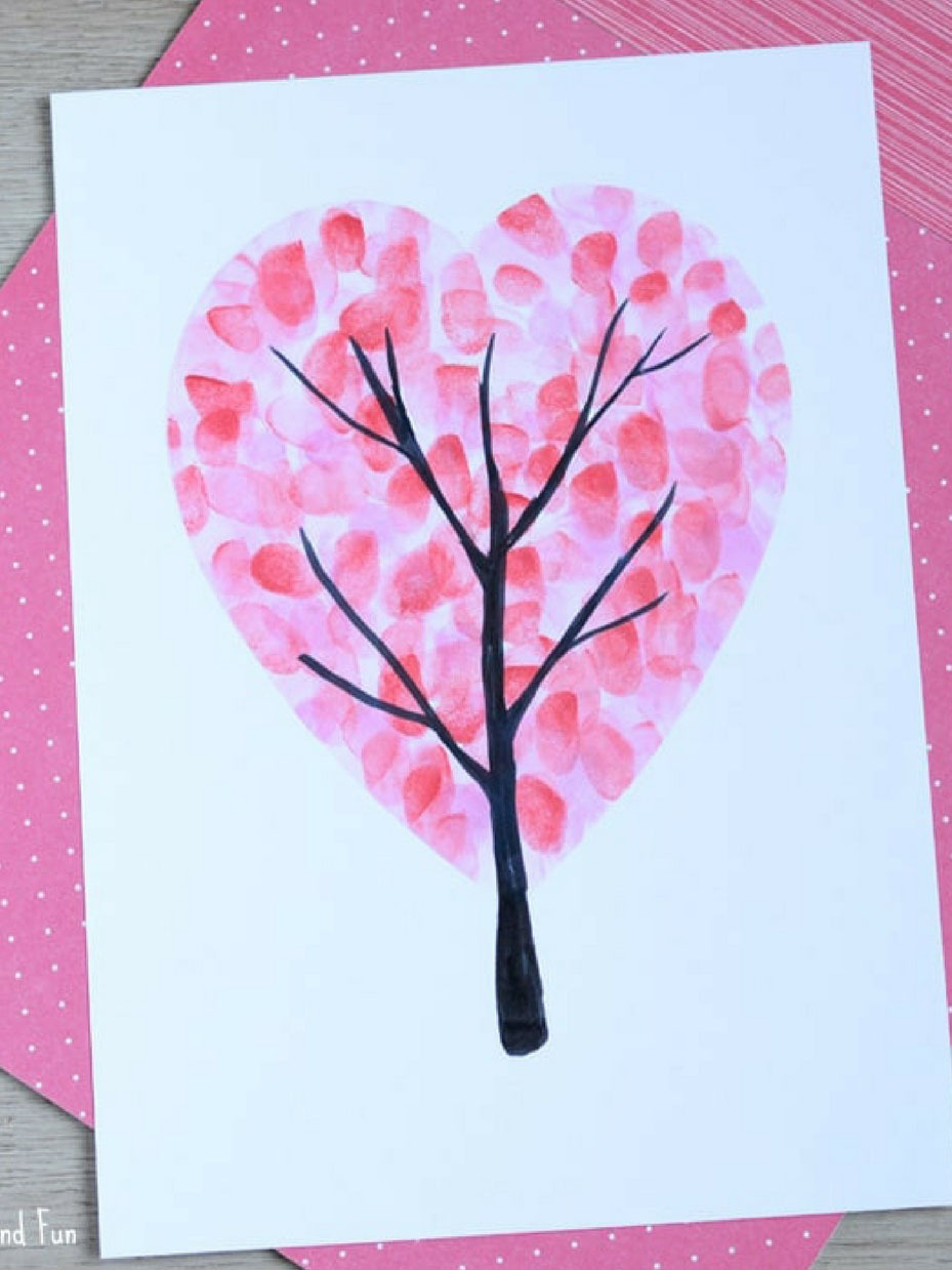 Awesome valentine construction paper crafts Valentines Day Crafts For Kids Fun365