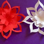 Craft Flower Paper Mothers Day Gift Ideas How To Make A Paper Flowers Easy Paper