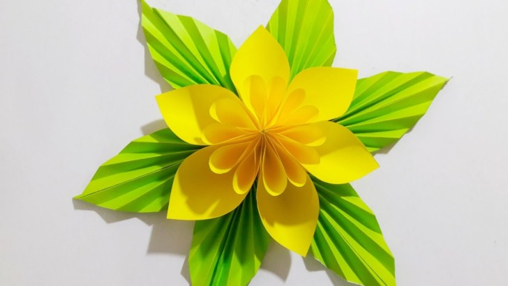 35+ Great Image of Craft Flower Paper